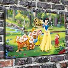 Snow white disney Painting HD Print on Canvas Home Decor Wall Art Pictures