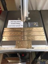 Your Choice Of One Solid Brass Engraving Plate For New Hermes Font Tray