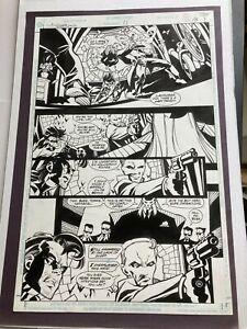 SCOTT McDANIEL ORIGINAL COMIC ART Nightwing #11 p.8 1997 Nightwing, Blockbuster