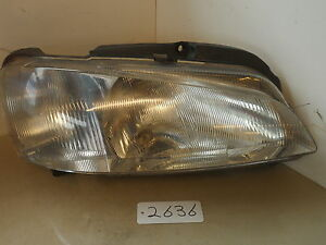 Peugeot 106 Headlight Assembly Unit Drivers Side Front 1996 ~ 2002