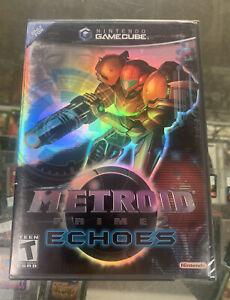 Metroid Prime 2 Echoes (Nintendo GameCube) GC NEW SEALED!