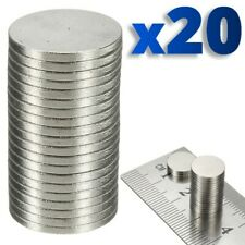20 x Rare Magnet Round Disc Magnets Earth Neodymium Craft 10.1mm N50 Grade