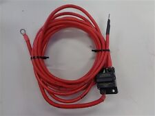 ELECTRICAL WIRE CABLE RED 4 AWG 24' W / CIRCUIT BREAKER MARINE BOAT