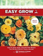 Thompson & Morgan EasyGrow-Caléndula Arte tonos mixed - 125 semillas