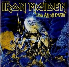 Iron Maiden + CD + Live after death (1985)