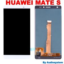 GLS DISPLAY LCD + TOUCH SCREEN PER HUAWEI MATE S CRR-UL00 CRR-L09 BIANCO VETRO