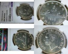 1948 CANADA $1 - ONE OF THE MOST WANTED SILVER DOLLARS