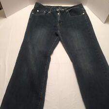 "Bogari Jeans sz 10 Straight Leg Woman Stretch 30"" waist, 36"" length, 26"" inseam"