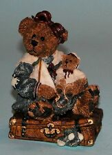 """Boyds Bears """" Bailey Bear With Suitcase"""" # 2000 Very retired 1993 NIB, traveling"""