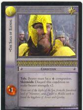 Lord Of The Rings CCG FotR Foil Card 1.R114 The Saga Of Elendil