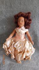 "MBC N Y Beehler Arts Doll Co.  Composite vintage doll 7""  full jointed"