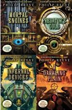 Philip Reeve MORTAL ENGINES Young Adult Fantasy Series Collection Set Books 1-4