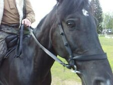 """Bridle """"Steppe"""" or """"Cossack"""" with rein аdorned with knots, Horse tack, Handmade"""