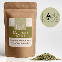 Majoran gerebelt  getrocknet Gewürz feinste Kräuter 100% rein  500g   JKR Spices