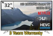 """TCL 32"""" HD LED Smart Netflix TV Brand New 32S6000S Freeview 3 years Warranty"""