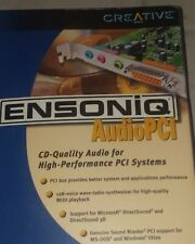 Creative Ensoniq PCI Audio Sound Card Model ES4815 NEW IN THE BOX