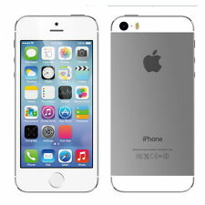 New in Box Apple iPhone 5s 16GB SILVER Factory GSM Unlocked for ATT T-Mobile