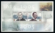 NORWAY . 2005  Dissolution of Union Souvenir Sheet (1431a) . Mint Never Hinged