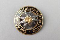 AV Alpen Verein  - Auszeichnung für 40 jähr. Mitgliedschaft - 30mm schwarz