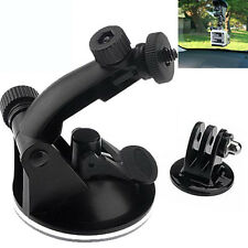 Suction Cup Sucker Mount Holder Tripod Adapter Camera Accessories For Gopro Hero