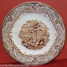 PIATTO Ceramica Soc.Cer. RICHARD LANDSAE Stile Inglese '800