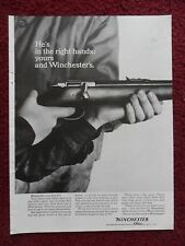 1961 Print Ad Winchester Shotgun Rifle Gun ~ He's in the Right Hands