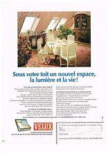 PUBLICITE  1977   VELUX fenetre de toit