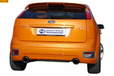 FORD FOCUS 2 ST muffler DUPLEX FOX 1x100
