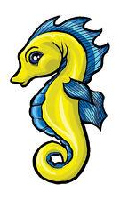 Seahorse Temporary Tattoo (12 tattoos)