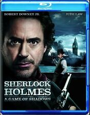 Sherlock Holmes: A Game of Shadows (Blu-ray 2012) Brand New Sealed Free Shipping