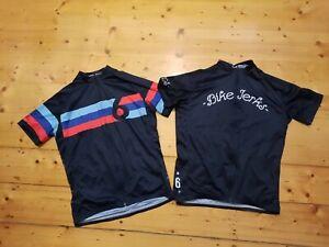 Twin Six Cycling Jersey x 2 Bike Jerks Grand Prix sz L FREE AU SHIPPING