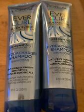 Lot of TWO L'Oréal Paris EverCurl HydraCharge Shampoo Sulfate Free, 8.5oz