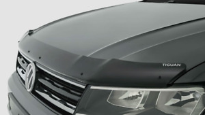Genuine Volkswagen Tiguan Bonnet Protector Guard Tinted Black 2017-2020
