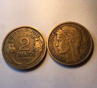 2 Francs Morlon Bronze-alu 1932