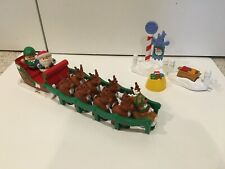 Fisher Price Little People Twas the Night Before Christmas Set 2004 Complete