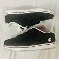 NEW Nike SB x Be@rbrick MEdicom Dunk Lows PS Size 1.5Y Black White DC1630 001