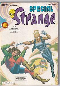 SPECIAL STRANGE N°47. LUG. Novembre 1986.1.