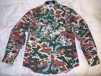DS NWT Billionaire Boys Club BAPE BBC IceCream BB Rings L/S Woven Shirt L Rare!