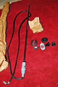 62 63 64 65 NOS FORD FAIRLANE ANTENNA KIT COMPLETE & CORRECT IN EVERY DETAIL ORI