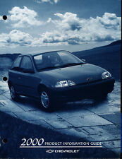 2000 Chevrolet Metro Geo Car Product Information Guide Brochure like