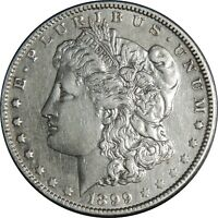 1899-O $1 MORGAN SILVER DOLLAR VF/XF DETAILS CLEANED / CULL COND. 041021119