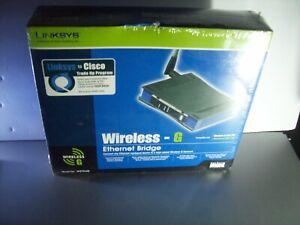 Linksys WET54G 2.4GHz 802.11g Wireless G Ethernet BRIDGE 54 Mbps NEW