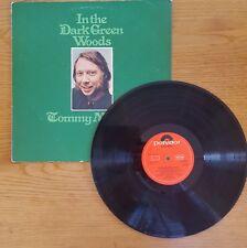 TOMMY MAKEM In The Dark Green Woods LP VINYL UK Polydor 1974 12 Track Textured