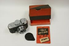 Robot II camera by the Berning Co. with a Xenar 37.5mm f2.8 lens, cap, inst. bx