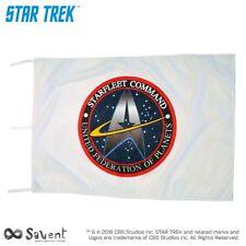 OFFICIAL STAR TREK STARFLEET COMMAND WHITE FLAG cm. 100x150