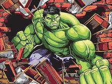 Marvel Pencil by Number Kit Avengers - Hulk #73-91499