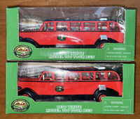 The Open Top Bus Company OT1936RD-2 1:48 Scale 1936 White 706 Tour Bus LOT 2