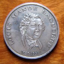 Medallions Daguerre, Louis Mande 1787-1851 Silver medal, For Special Merits