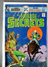 """vintage DC comic """" The HOUSE of SECRETS # 137 """" bagged & boarded"""