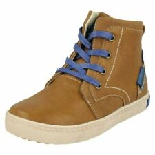 Boys JCDees Lace Up Ankle Boots